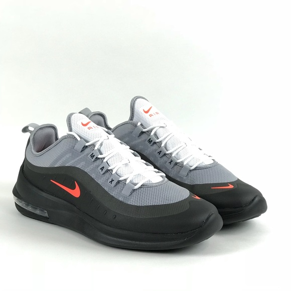 d6b7a918e5e433 Nike Mens AirMax Axis Wolf Gray Running Shoes